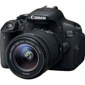 Canon EOS 700D + 18-55mm DC (non stabilizzato)