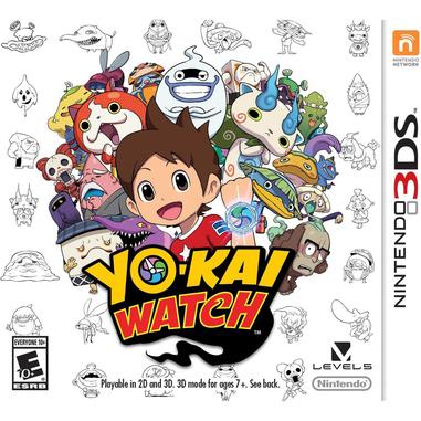 Nintendo Yo-Kai Watch special edition, 3DS