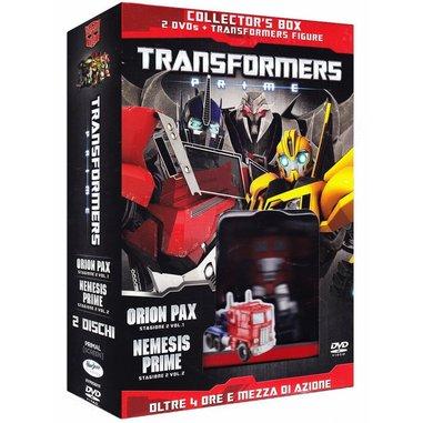 Transformers Prime - Stagione 02 #01-02 edizione speciale (DVD + figure)