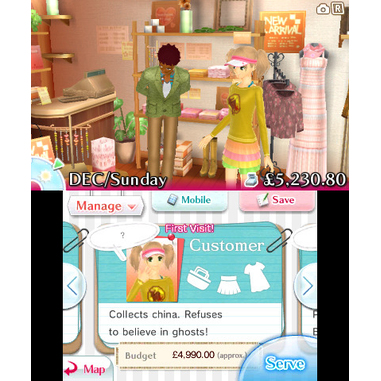 Nintendo New Style Boutique, 3DS Selects