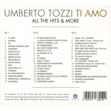 Ti Amo All the Hits & More