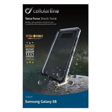 Cellularline Tetra Force Shock-Twist (Galaxy S8)