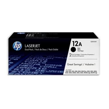 HP Q2612AD 4000pagine Nero cartuccia toner