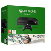 Microsoft 500GB Xbox One + QUANTUM BREAK