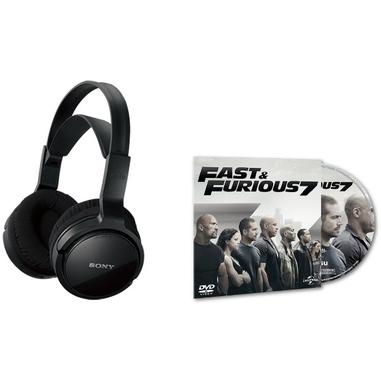 Sony MDR-RF811RK + DVD Fast & Furious 7