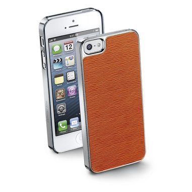 Cellularline STYLEIPHONE5O Cover Arancione custodia per cellulare