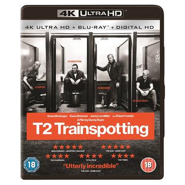 T2 Trainspotting 4K Ultra HD, Blu-ray Blu-ray 2D ITA