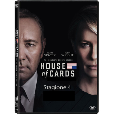 House of Cards: Stagione 4, DVD