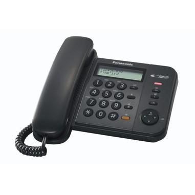 Panasonic KX-TS560EX1B Identificatore di chiamata Nero telefono