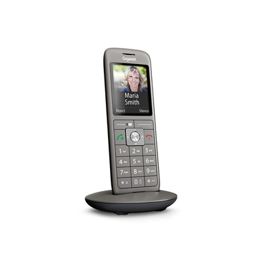 Gigaset CL660HX Analog/DECT telephone Identificatore di chiamata Antracite