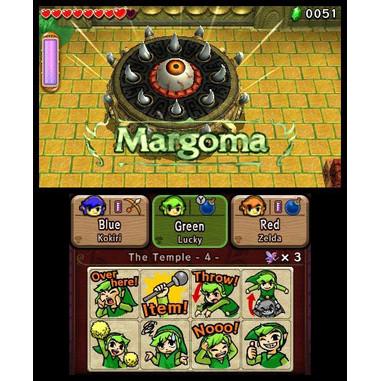 The Legend of Zelda: Tri Force Heroes - 3DS
