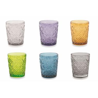 Villa D'este Home Marrakech Set 6 Bicchieri Acqua
