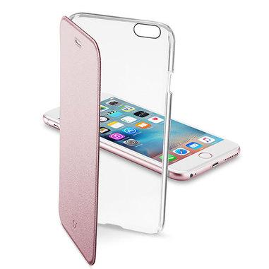 Cellular Line Clear Book per iPhone 6 rosa