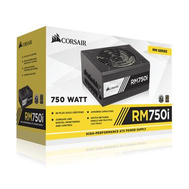Corsair RM750i alimentatore per computer 750 W ATX Nero