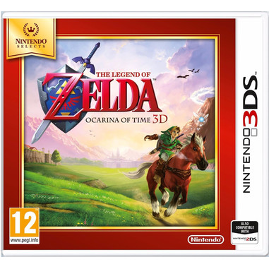 Nintendo The Legend of Zelda: Ocarina of Time 3D, Selects