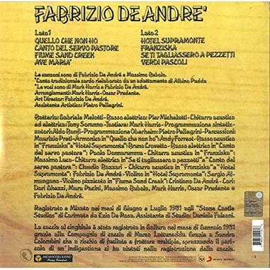 Fabrizio De André (Indiano) (vinile)