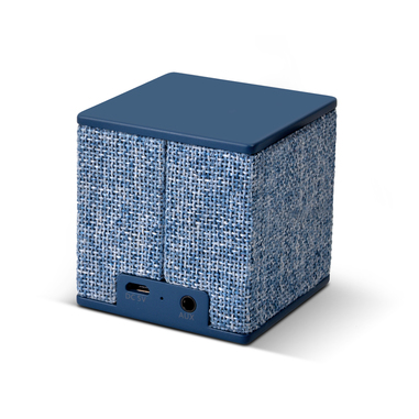 Fresh 'n Rebel Rockbox Cube Fabriq Edition - Indigo