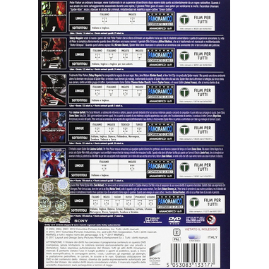 Spider-Man Collection 6 Film (6 DVD)