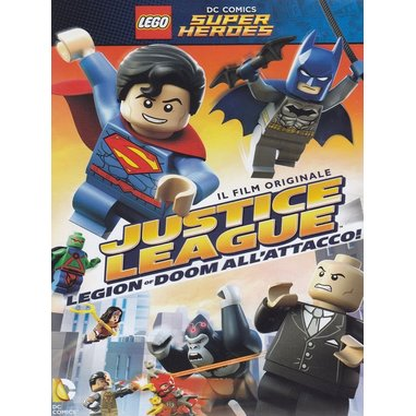 Lego Dc Super Heroes - Justice League - Legion of Doom all'attacco! (DVD)