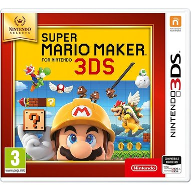 Super Mario Maker Select, 3DS