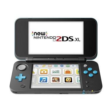 """Nintendo New 2DS XL console da gioco portatile Nero, Blu 12,4 cm (4.88"""") Touch screen Wi-Fi"""