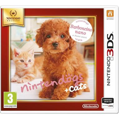 Nintendo Nintendogs + Cats: Barboncino nano & Nuovi amici