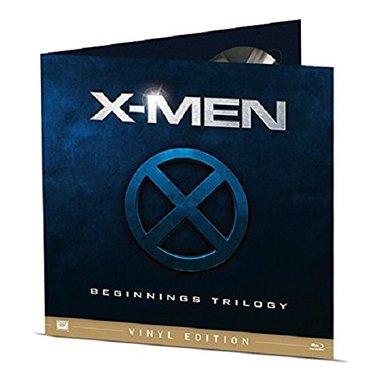X-Men Beginning Trilogy - Vinyl Edition (Blu-Ray)