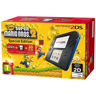 Nintendo 2DS + Super Mario Bros 2