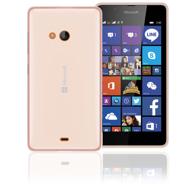 Phonix ML540GPW Custodia Trasparente custodia per Lumia 540