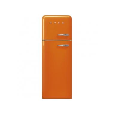 Smeg FAB30LOR3 frigorifero con congelatore Libera installazione Arancione 294 L A+++
