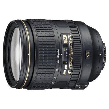 Nikon AF-S Nikkor 24-120mm f/4G ED VR SLR Standard zoom lens Nero