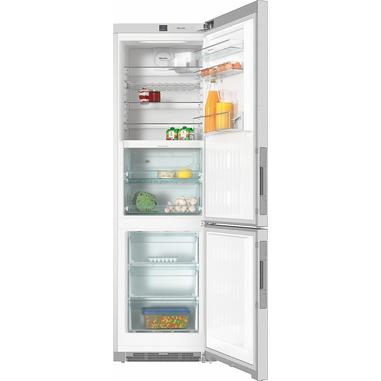 Miele KFN 29283 D EDT/CS Libera installazione 343L A+++ Acciaio inossidabile frigorifero con congelatore
