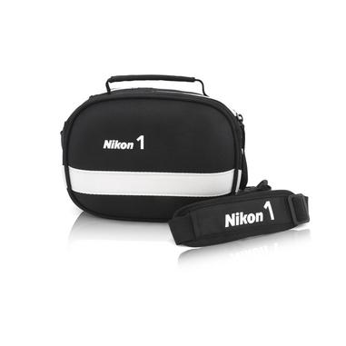 Nikon CF-EU06 Borsa da spalla Nero, Bianco