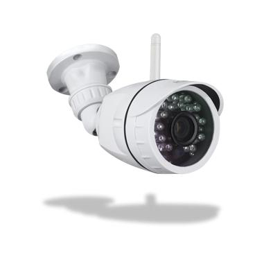 Atlantis Land PlusCAM HD 7500 OutDoor1 Telecamera di sicurezza IP Esterno Capocorda Bianco 1280 x 720Pixel