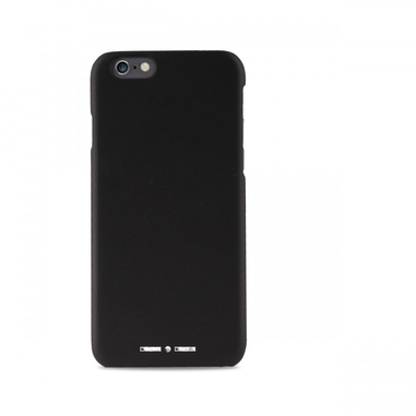 PURO Custodia soft-touch per iPhone 6/6s nera