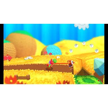 Poochy & Yoshi's Woolly World Basic Nintendo 3DS ITA videogioco