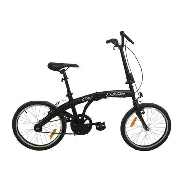 BeBikes Be Easy NK Adulto unisex Città Acciaio Nero bicicletta