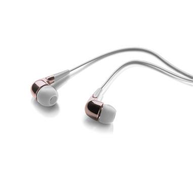 Meliconi Speak MIRROR Auricolare Stereofonico Cablato Rosa, Bianco auricolare per telefono cellulare