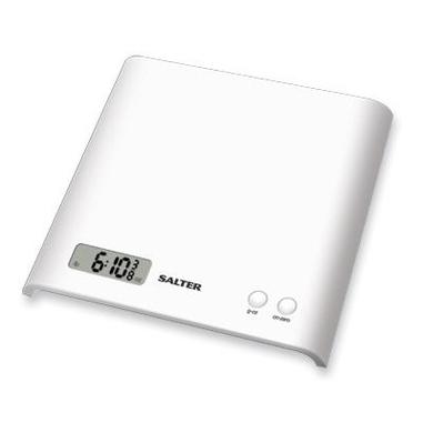 Salter 1066WHDR Bilancia da cucina elettronica Bianco