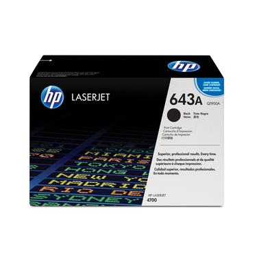 HP Cartuccia Toner originale nero LaserJet 643A