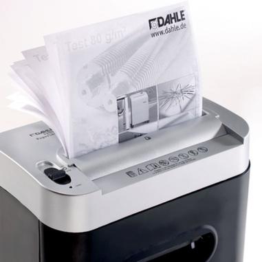 Dahle 22092 Cross shredding 62dB Nero, Bianco distruggi documenti