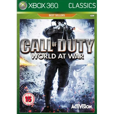 Activision Call of Duty: World at War - Classics, Xbox 360