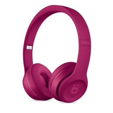Beats Solo3 Padiglione auricolare Stereofonico Con cavo e senza cavo Rosso auricolare per telefono cellulare