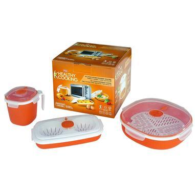 Snips set 3 pezzi Healty Cooking colazione, contenitori da microonde