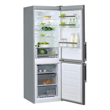 Whirlpool WDNF 83D MX H frigorifero con congelatore Libera installazione Acciaio inossidabile 319 L A+++
