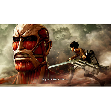 Attack on Titan: Wings Of Freedom, PS4 Basic PlayStation 4 Cinese tradizionale videogioco