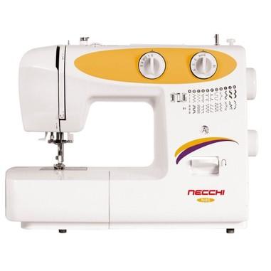 Necchi n85 macchina da cucire meccanica con 23 punti e for Macchina da cucire meccanica