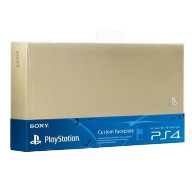 Sony Cover personalizzata per PS4 Oro