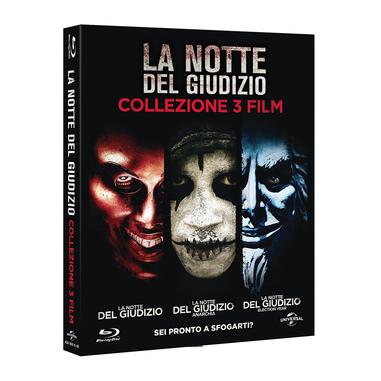 La Notte del Giudizio: La Trilogia Blu-ray
