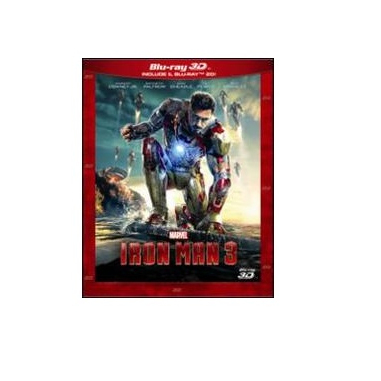 Iron Man 3 (2013), 3D, Blu-Ray